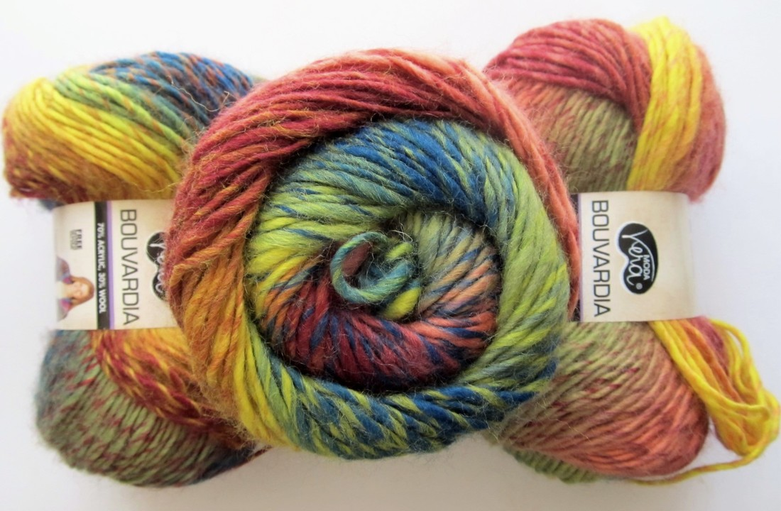 Moda Vera Bouvardia Knitting Yarn Wool Acrylic Celebration